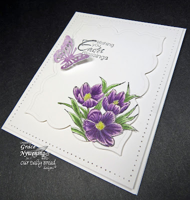 Our Daily Bread designs stamps, Earth's Gladdest Day, Grace Nywening