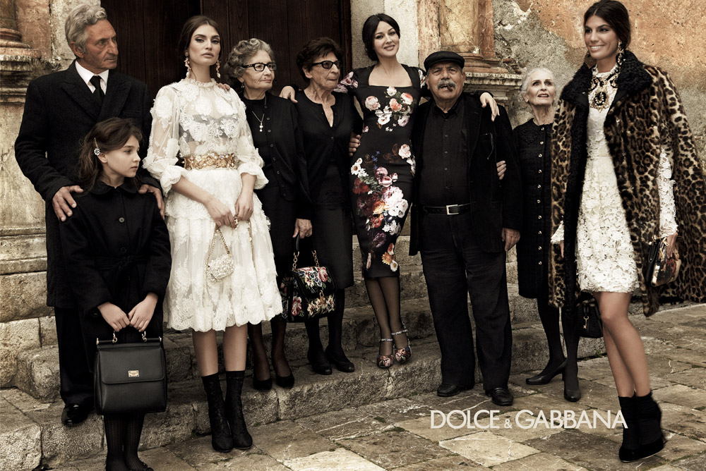 White Apartment: Dolce and Gabbana