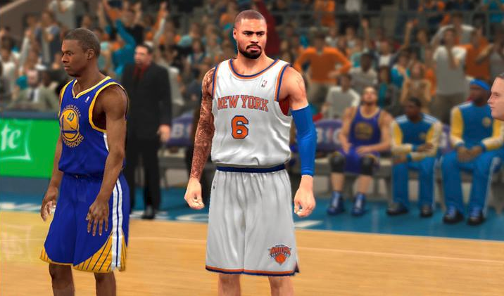 NBA 2K14 Tyson Chandler Cyberface Patch