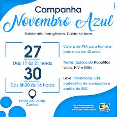 Guaraniaçu - Campanha Novembro Azul