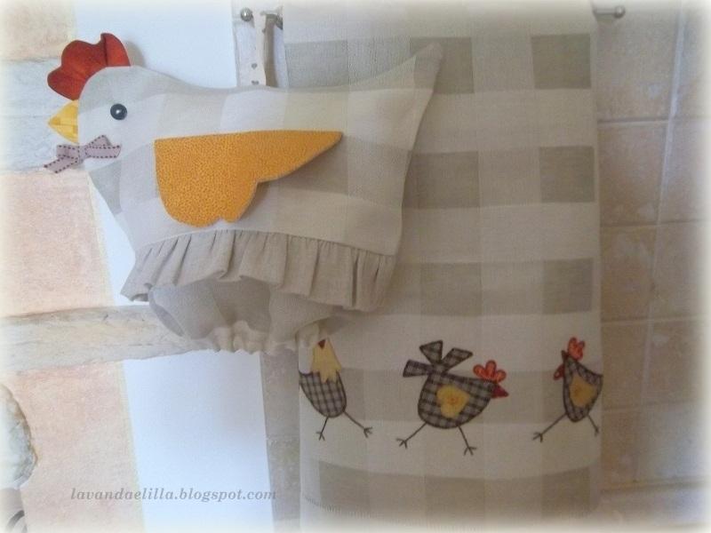 Lavanda e lill galline porta sacchetti sal alfabeto estrazione cuore di san valentino - Porta sacchetti ...