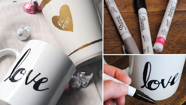 valentine diy mok mug