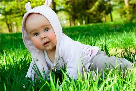 Ребенок с нездоровым цветом вокруг рта