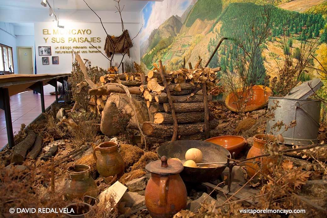 Centro de Interpretación Centro de Visitasantes Moncayo Añon de Moncayo