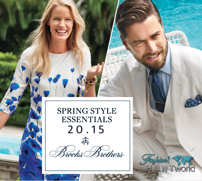 Brooks Brothers Spring / Summer Collection 2015