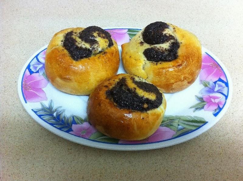 עוגיות שמרים עם פרג