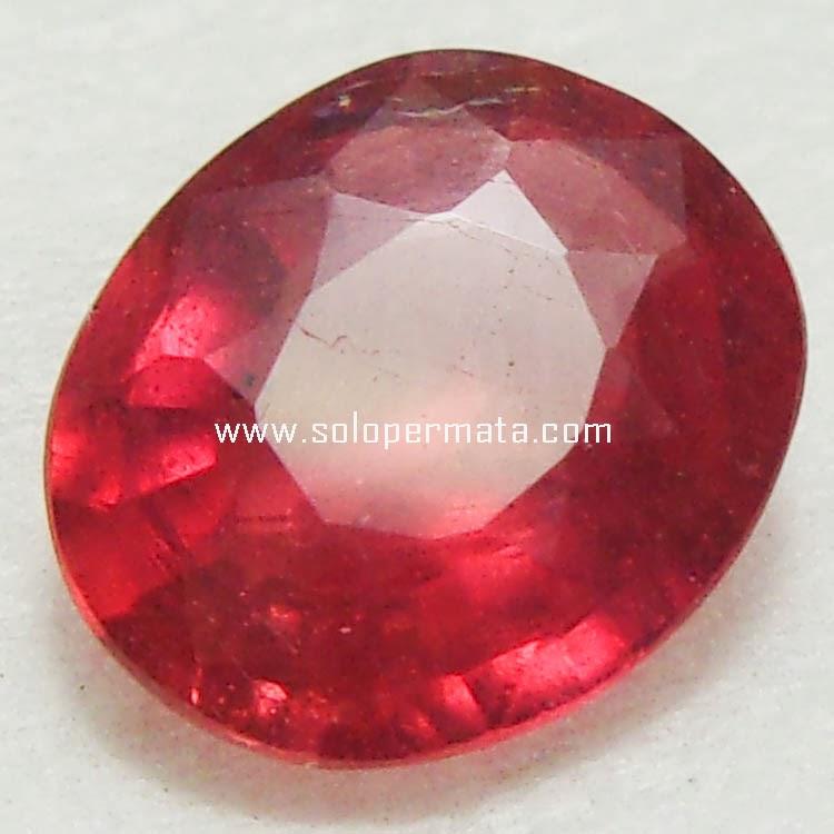 Batu Permata Padparadscha Sapphire - 15A05
