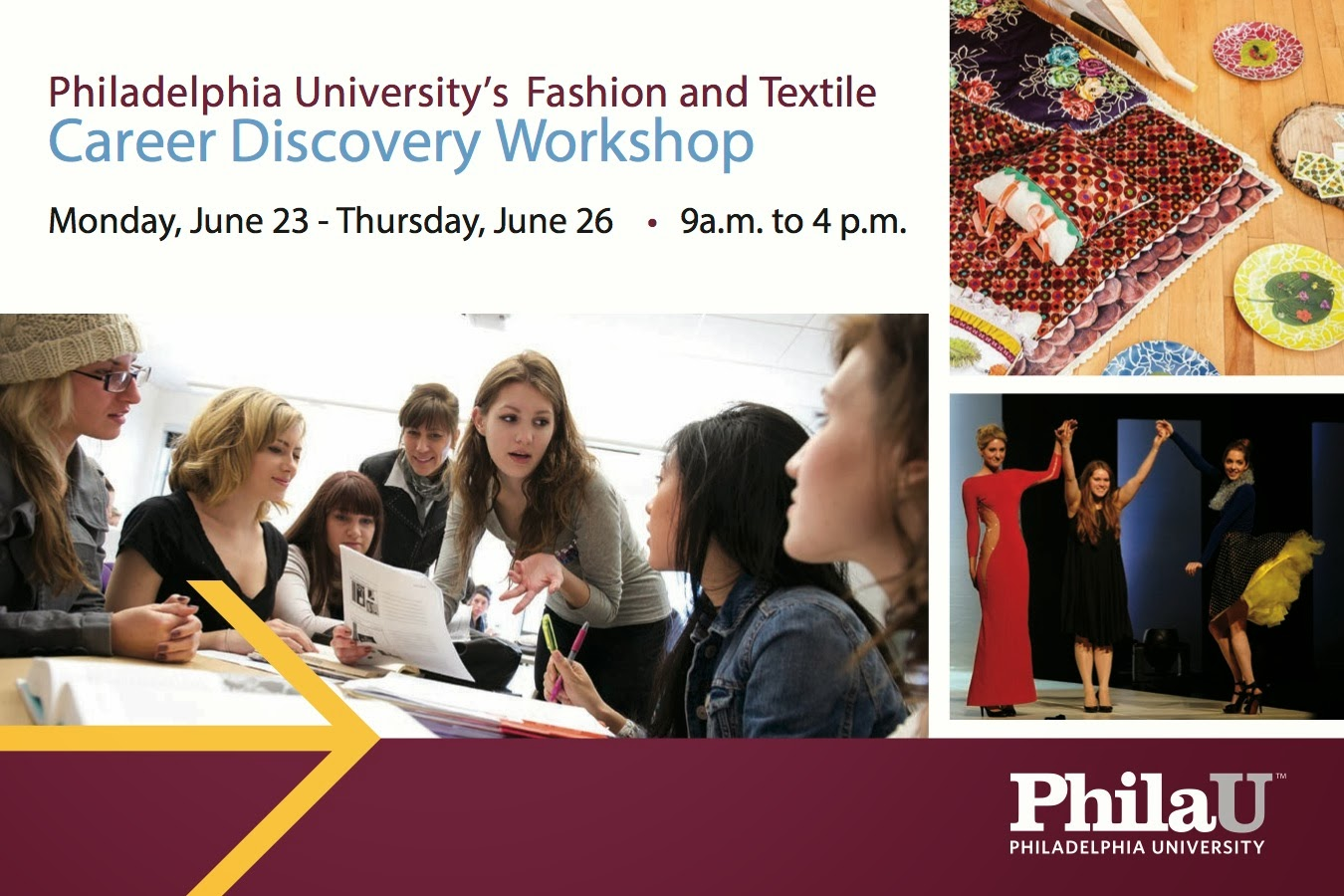 Textile design philadelphia university february 2014 Fashion design schools in philadelphia