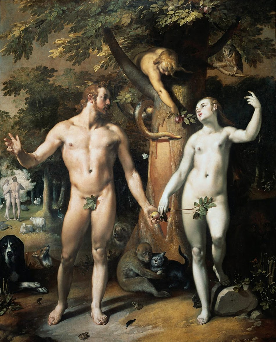 compare the iroquois creation story with the judeo christian version with adam and eve After the creation of eve, adam says  judeo-christian teaching believes that god showed us the model for marriage and family it is the present-day version of.