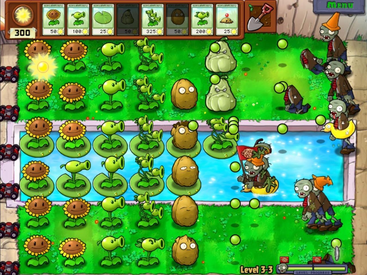 Plantas vs zombies full mega droweertutoriales for Jardin zen plantas vs zombies