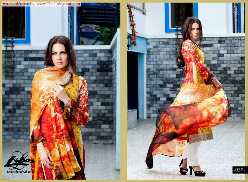 Libas Embroidered Mid-Summer Collection 2014 by Shariq