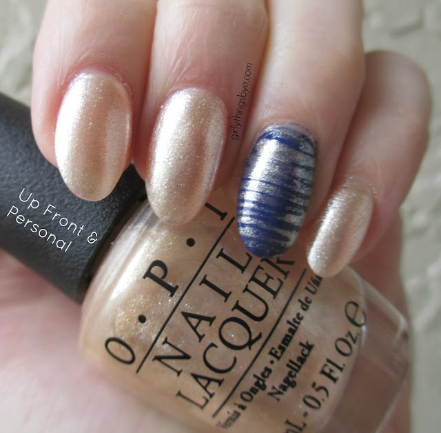 OPI Up Front & Personal Swatch, Cult Nails Wack Slacks, @girlythingsby_e