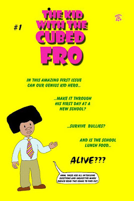 The cover for The Kid With The Cubed Fro