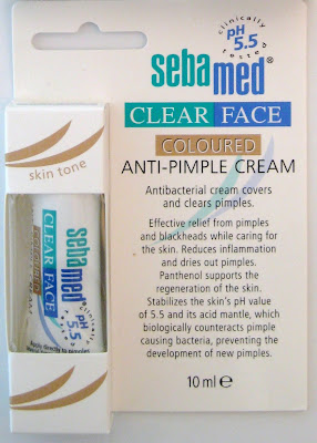 Sebamed, Coloured, Anti-Pimple Cream, Zit gel, Pimples