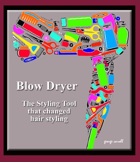 George Caroll Hollywood Hair Stylist Blow Dryer