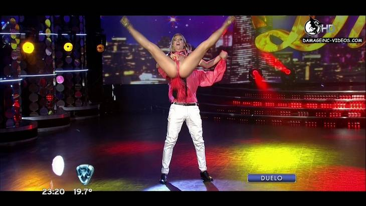 Argentina dancer Sofia Macaggi legs wide open hd 720p video