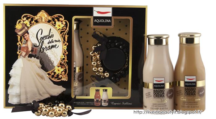 Bagno Doccia Aquolina : Aquolina specchio delle mie brame collection natale 2013 preview