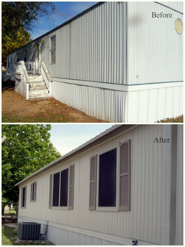 painting a mobile home exterior colors pics joy studio design gallery best design