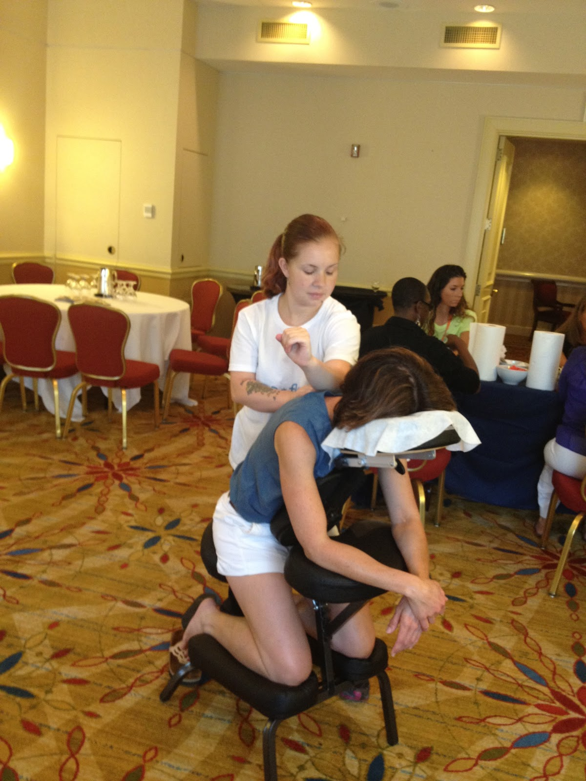 Chair massage virginia arlington reston alexandria for Chair massage dc