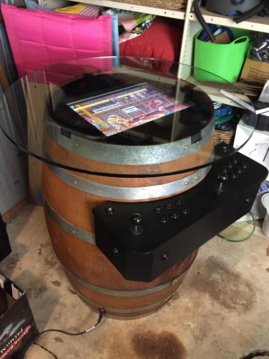 arcade raspberry pi barril