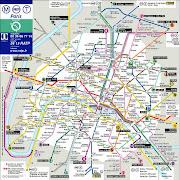 Plan de Paris Metro. Publié par cimairamon3 à 16:37 (plan de paris metro)
