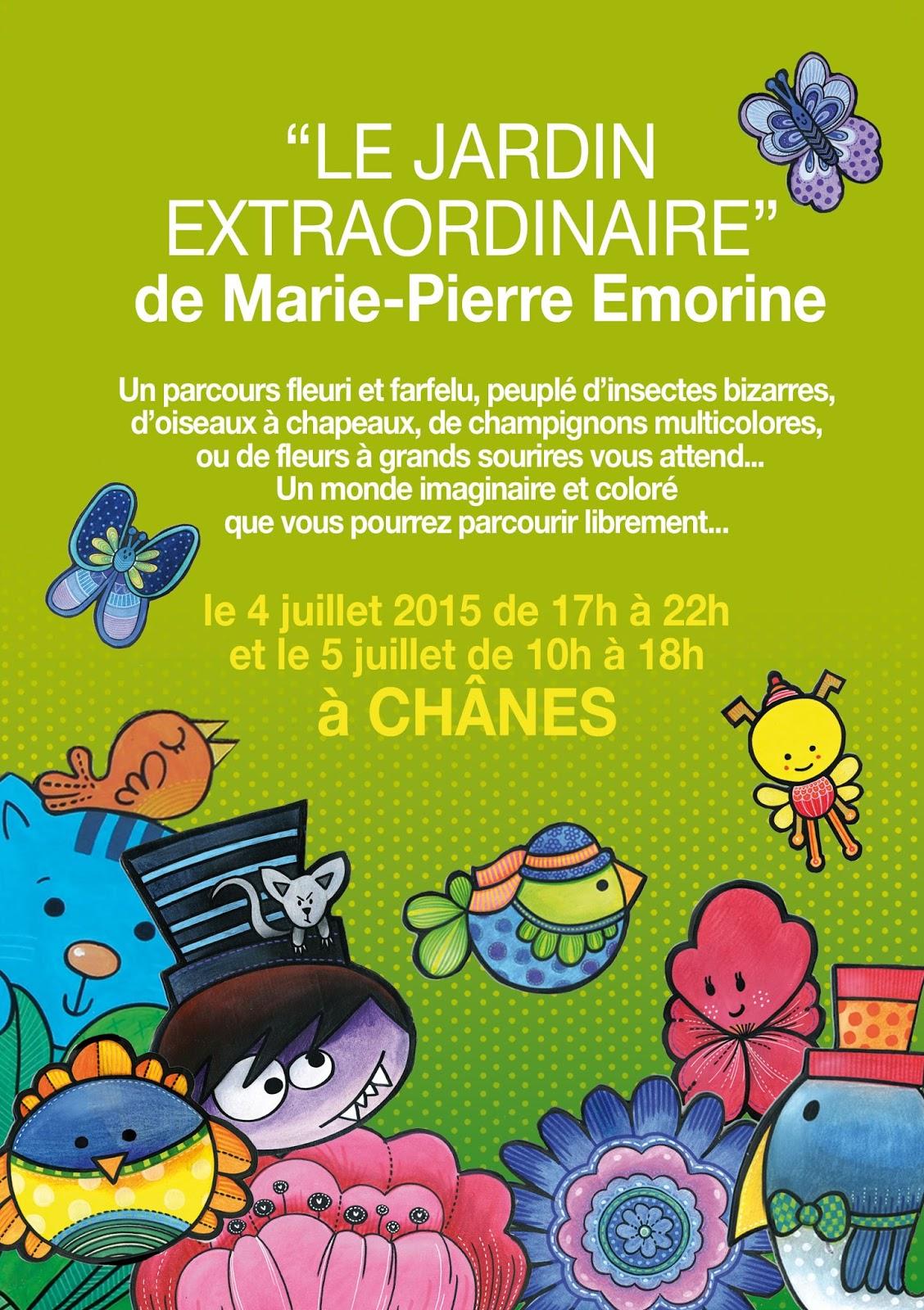 Emorine marie pierre illustratrice jeunesse conception for Conception jardin