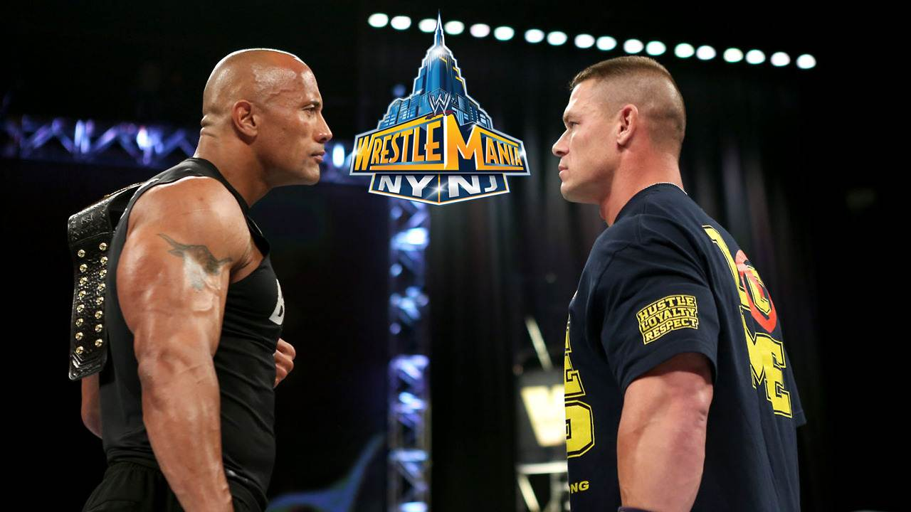 Point counterpoint the rock vs john cena
