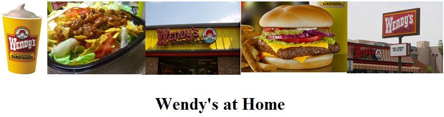 Wendy's Restaurant Copycat Restaurant