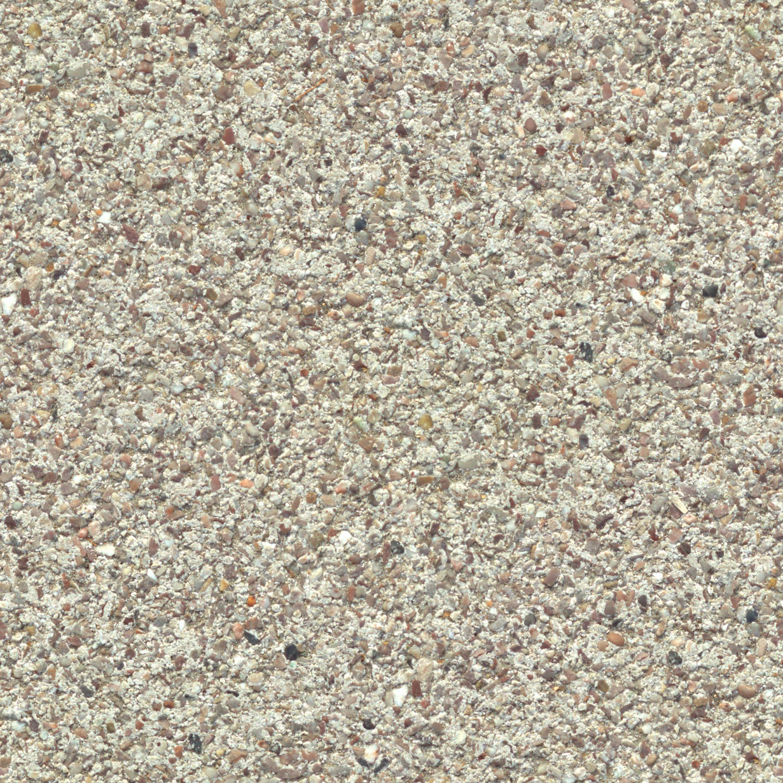 Concrete gravel floor coloured stones seamless texture 2048x2048