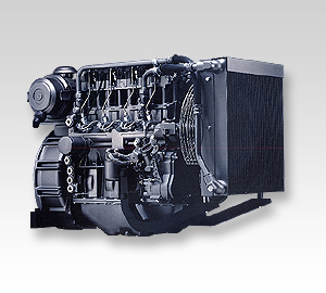 Deutz oil cooled generator set