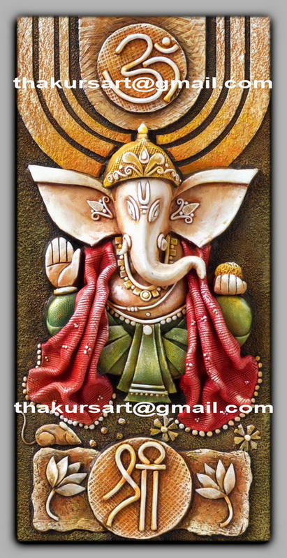 Online mural classes for Mural art of ganesha