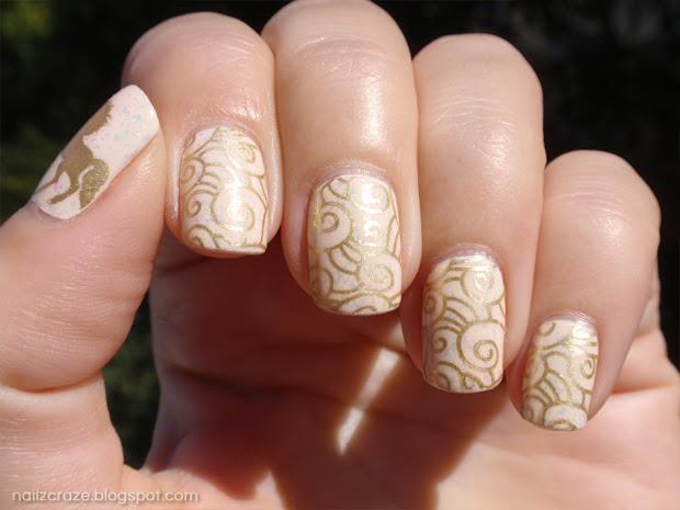 notd golden unicorn in ivory skies