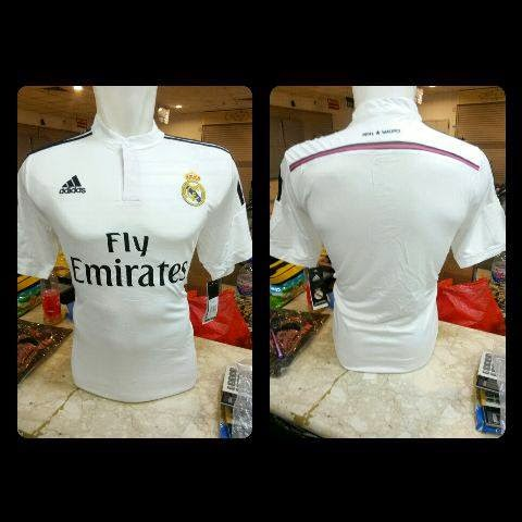 Photo jersey real madrid home official terbaru musim 2015