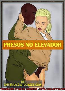 Presos no elevador
