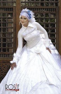 ������ ����� ������ 2017 � ����� ��� �������� Hijab wedding Dresses