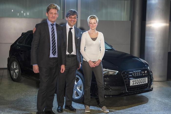 Audi ha vendido 1,5 millones de vehículos en 2013