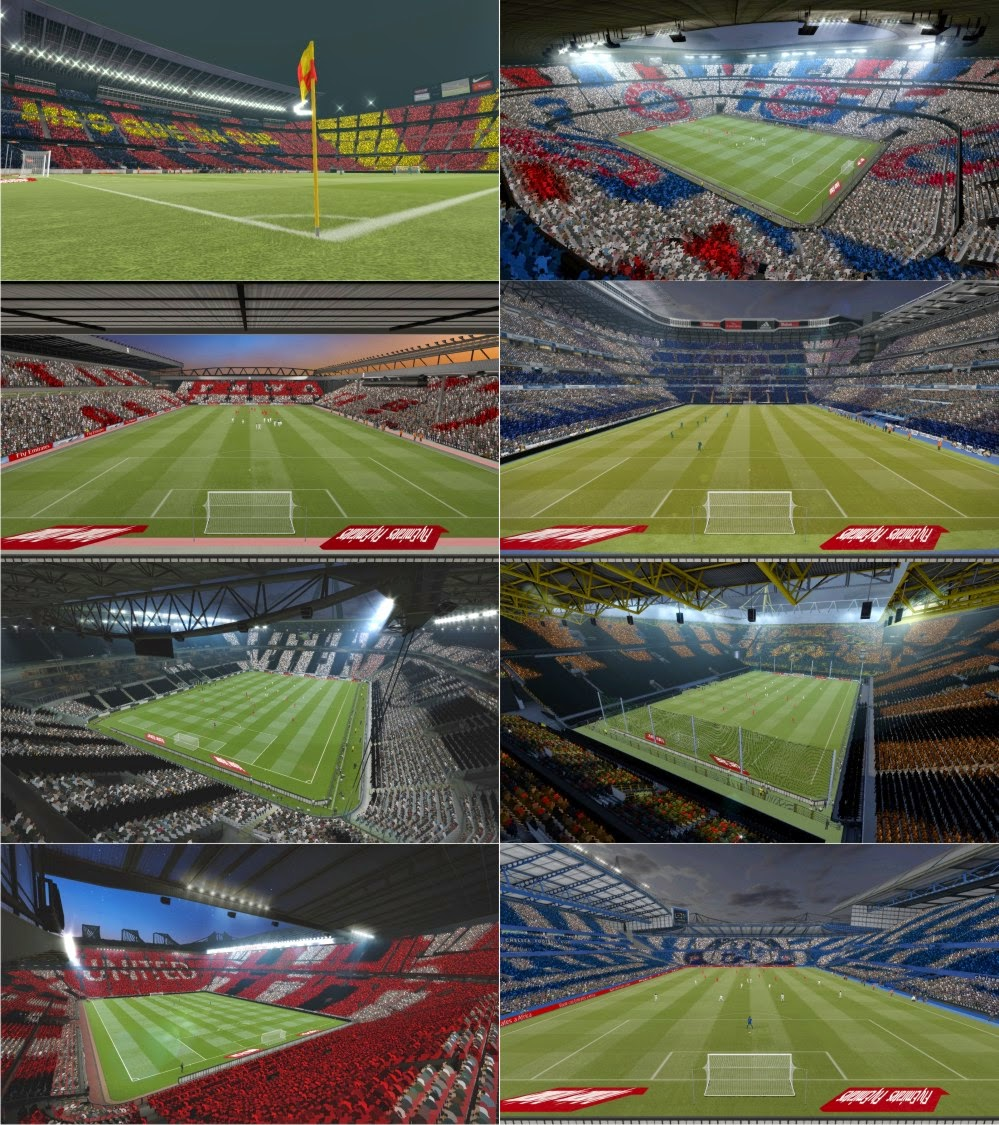 PES 2015 Mosaics Patch By Abdallah Tamer