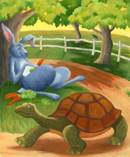 Cerita The Hare And The Tortoise