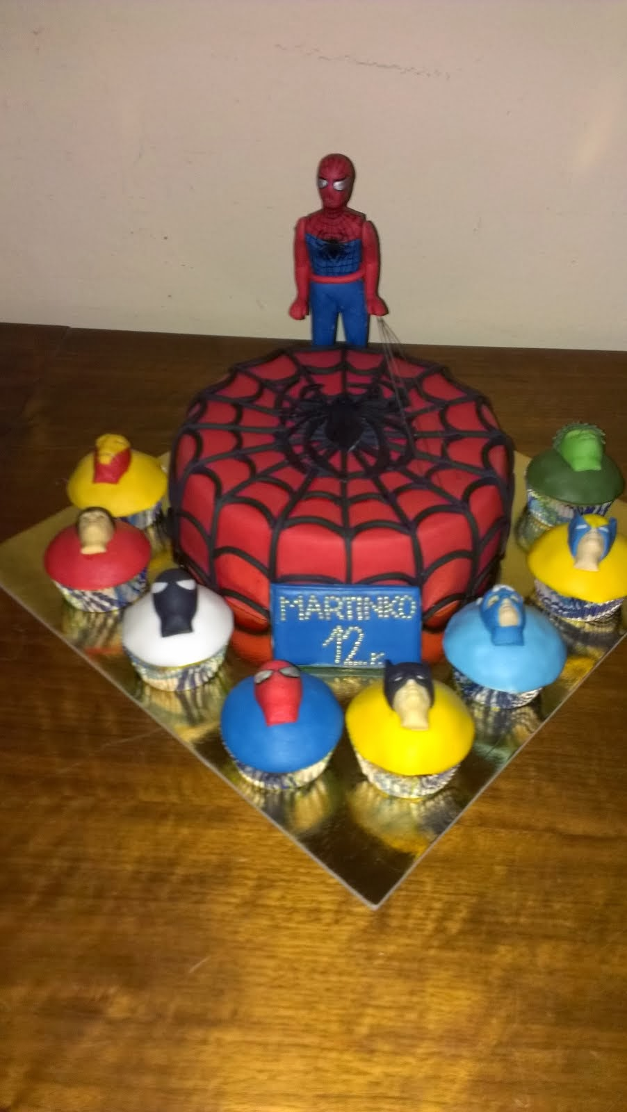 Torta Marvel Spiderman