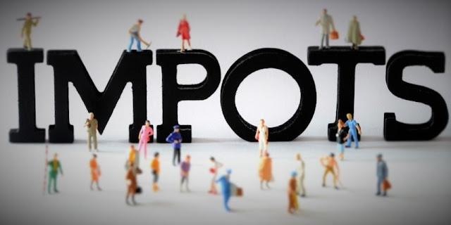 Image et poème sur les impots et taxes