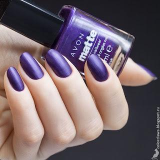 Avon Matte Violetta