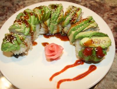 SPICE ISLAND VEGAN: Vegan Caterpillar Roll