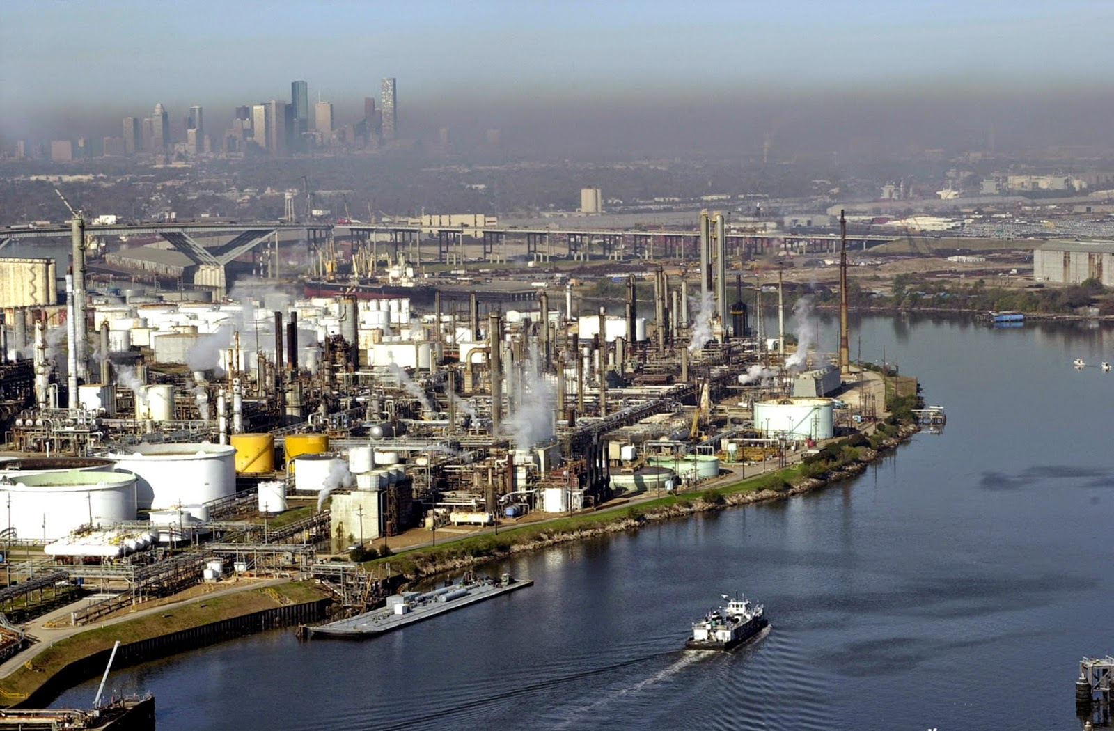 Image of the Houston Ship Channel