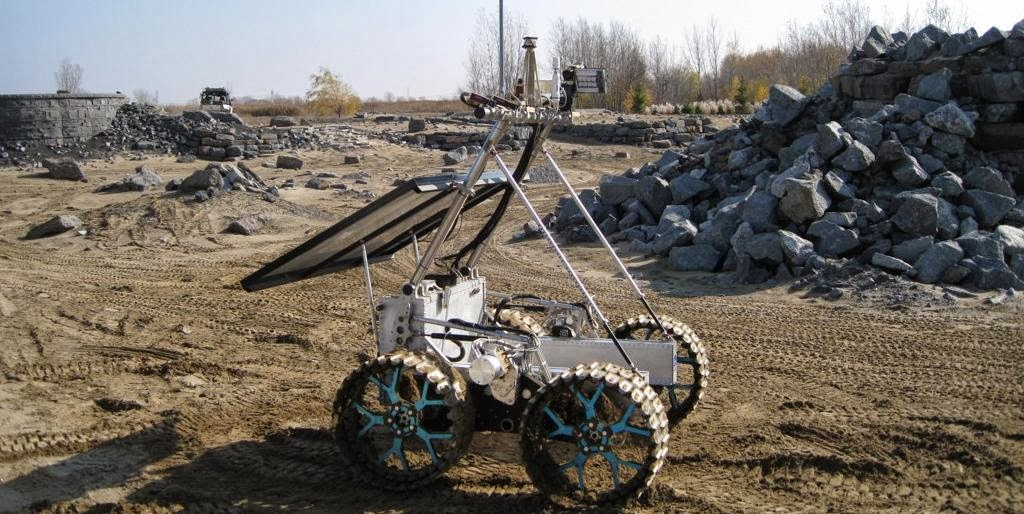 Artemis rover. Credit: Canadian Space Agency