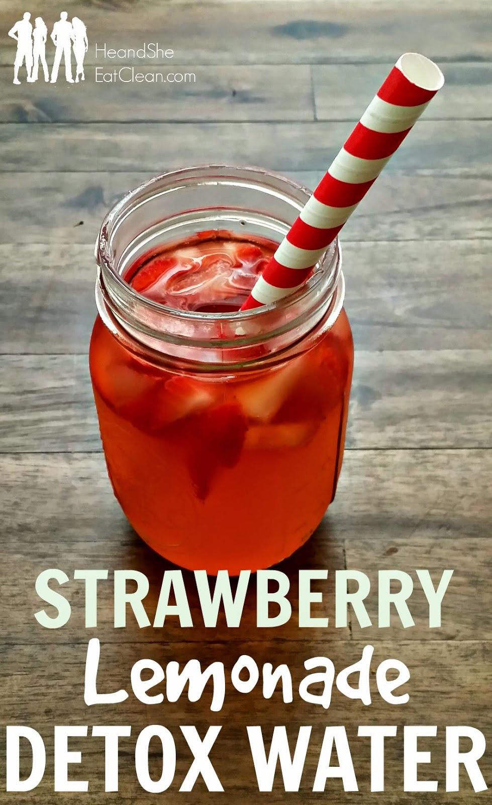 Strawberry Lemonade Detox Water