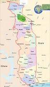 Mapa de Togo Mapas (mapa de togo mapas )
