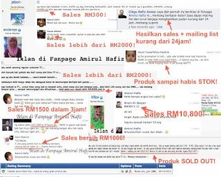 Servis iklan di Fanpage