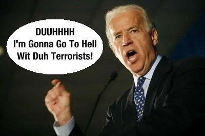 Joe Biden going to hell