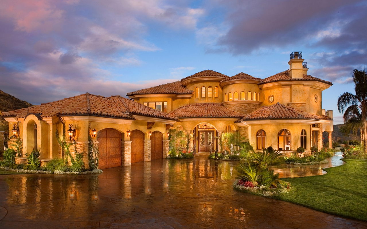 My new model tuscan style backyard landscaping pictures for Luxury tuscan homes