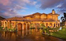 Mediterranean House Exterior Tuscan Home